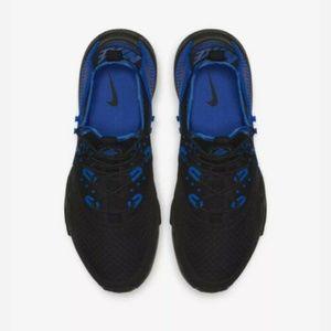 Nike Air Huarache Drift Men's Black/Royal Blue